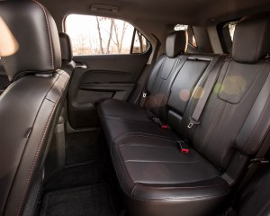 2016 Chevrolet Equinox LTZ Interior Rear Passenger Seats