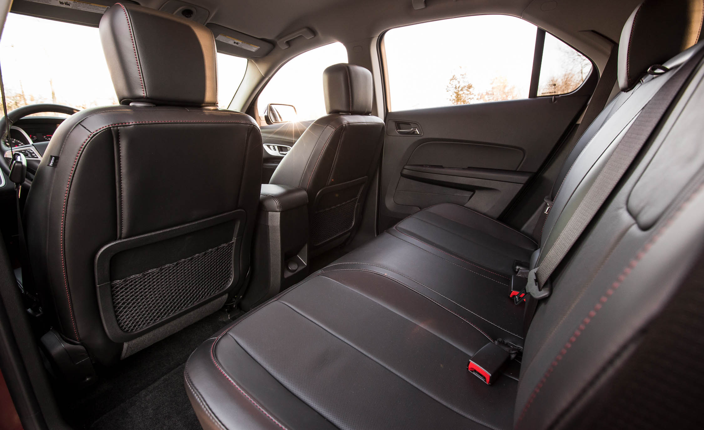 2016 Chevrolet Equinox LTZ Interior Rear