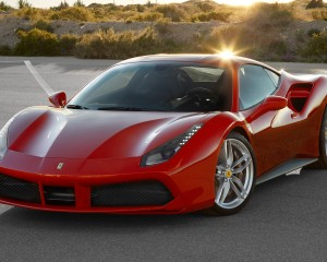 2016 Ferrari 488GTB Exterior Full Front and Side