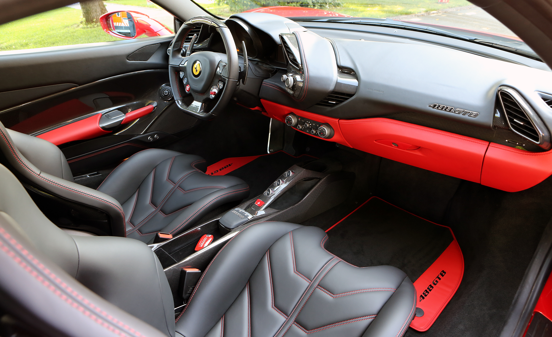 2016 Ferrari 488GTB Interior Dashboard