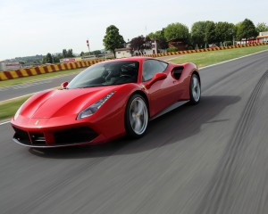 2016 Ferrari 488GTB Test Performance
