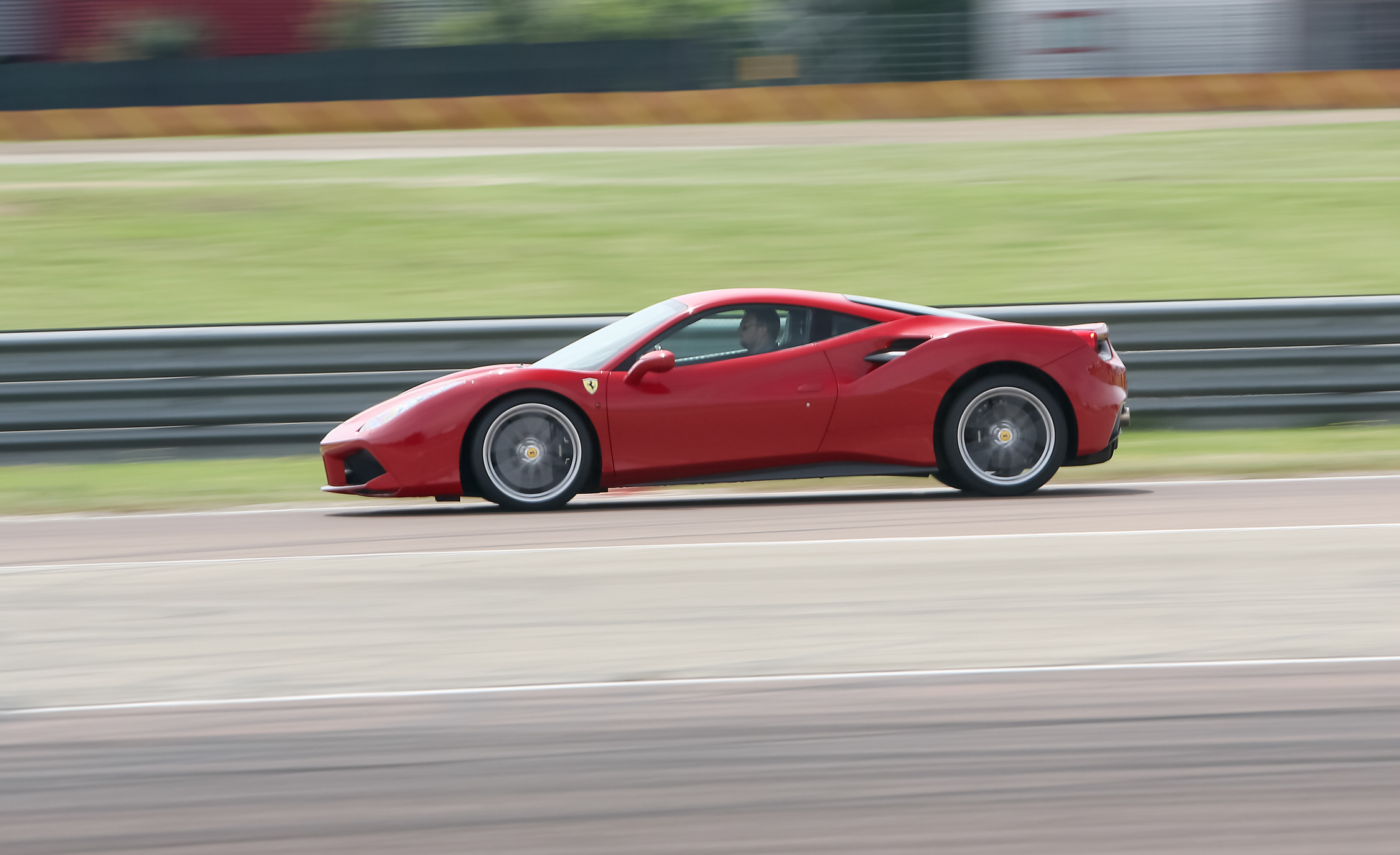 2016 Ferrari 488GTB Test Side View