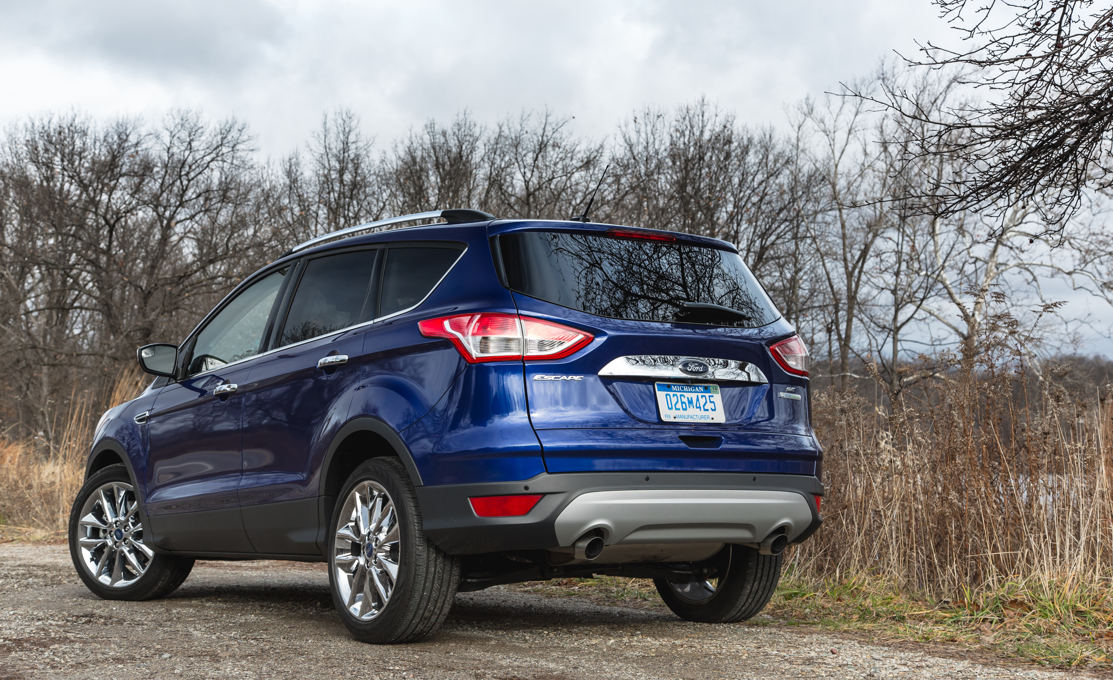 2016 Ford Escape Ecoboost SE Exterior Rear and Side
