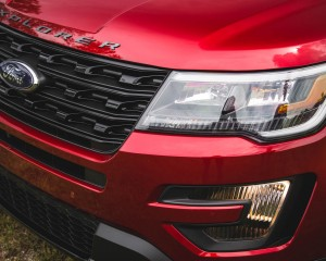 2016 Ford Explorer Sport Exterior Foglamp and Bumper
