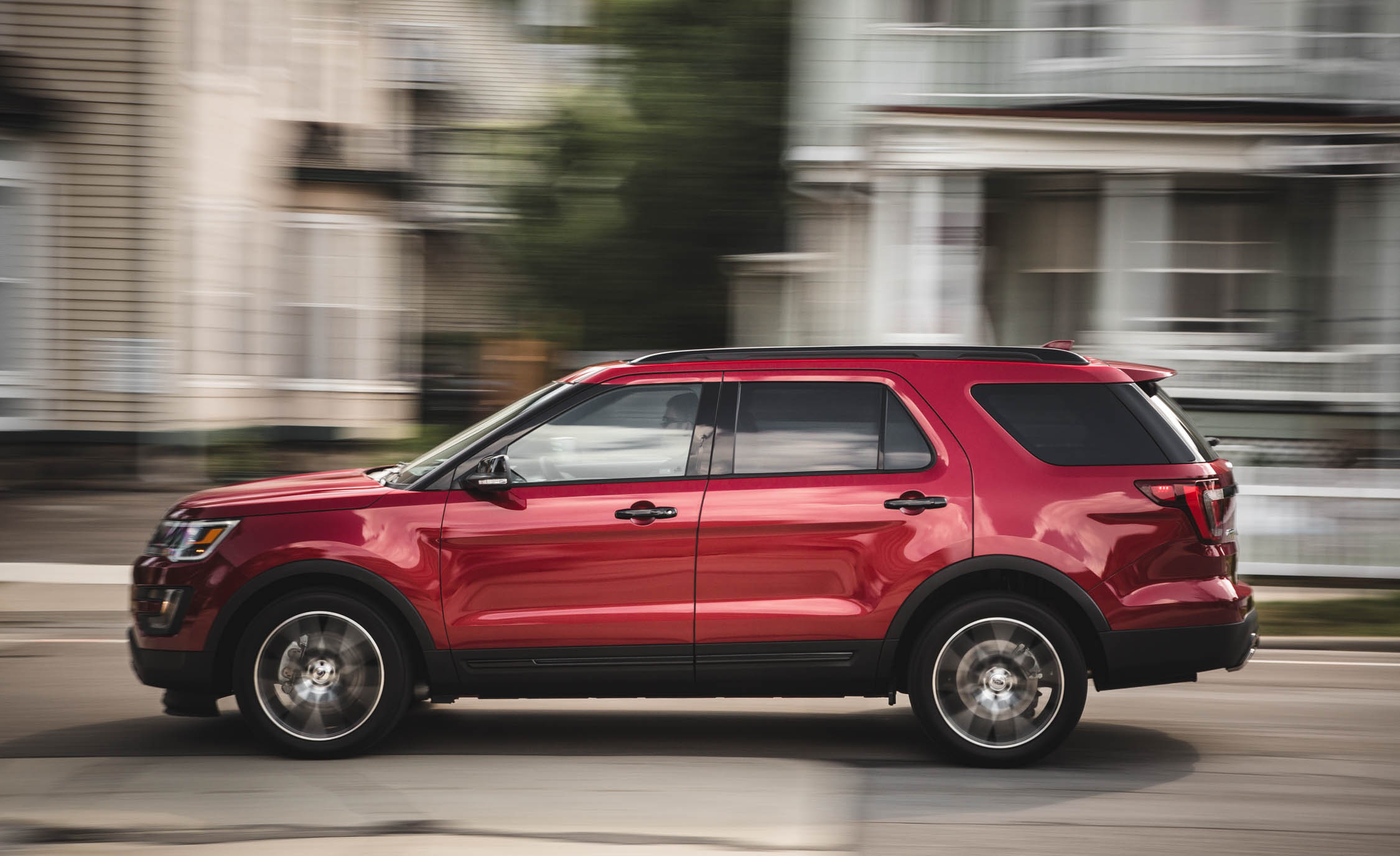 2016 ford explorer sport test side view 9055 cars performance reviews and test drive. Black Bedroom Furniture Sets. Home Design Ideas