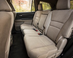 2016 Honda Pilot EX FWD Interior Seats 2nd Row Middle