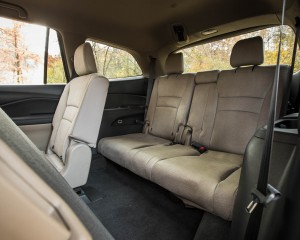 2016 Honda Pilot EX FWD Interior Seats 3rd Row Rear