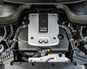 2016 Infiniti QX50 3.7-Liter V-6 Engine