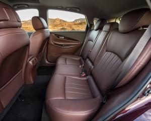 2016 Infiniti QX50 Interior Seats Rear Passenger