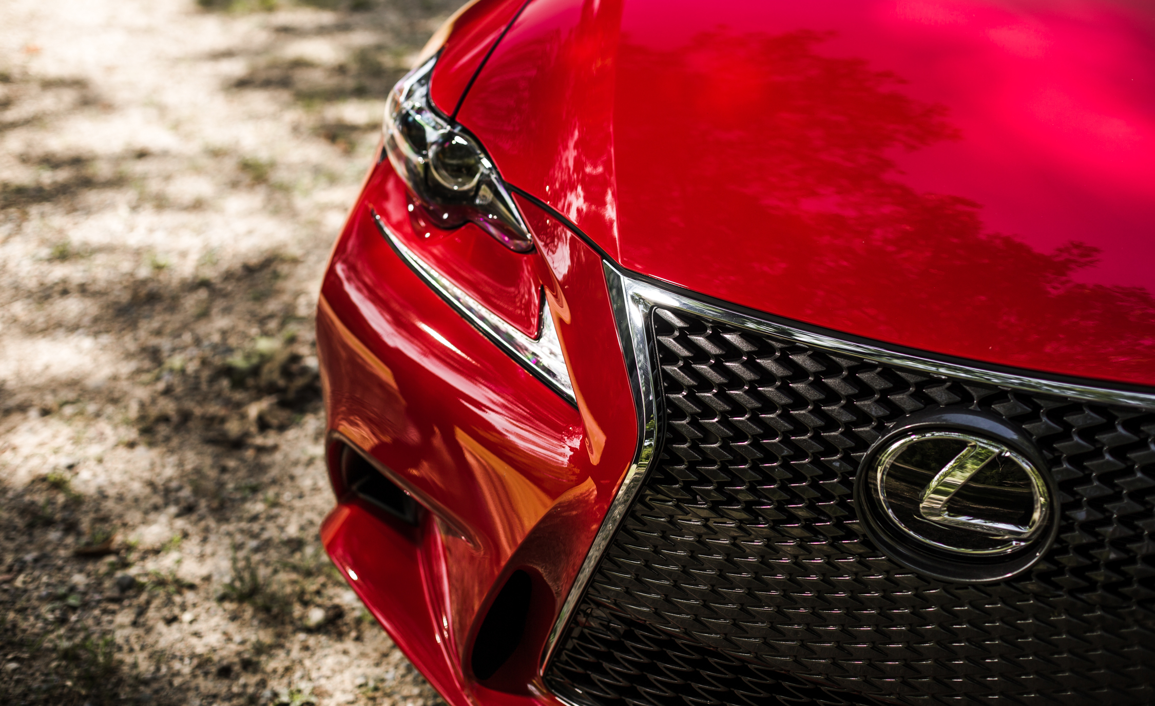2016 Lexus IS200t F Sport Exterior DRL and Headlamp Left