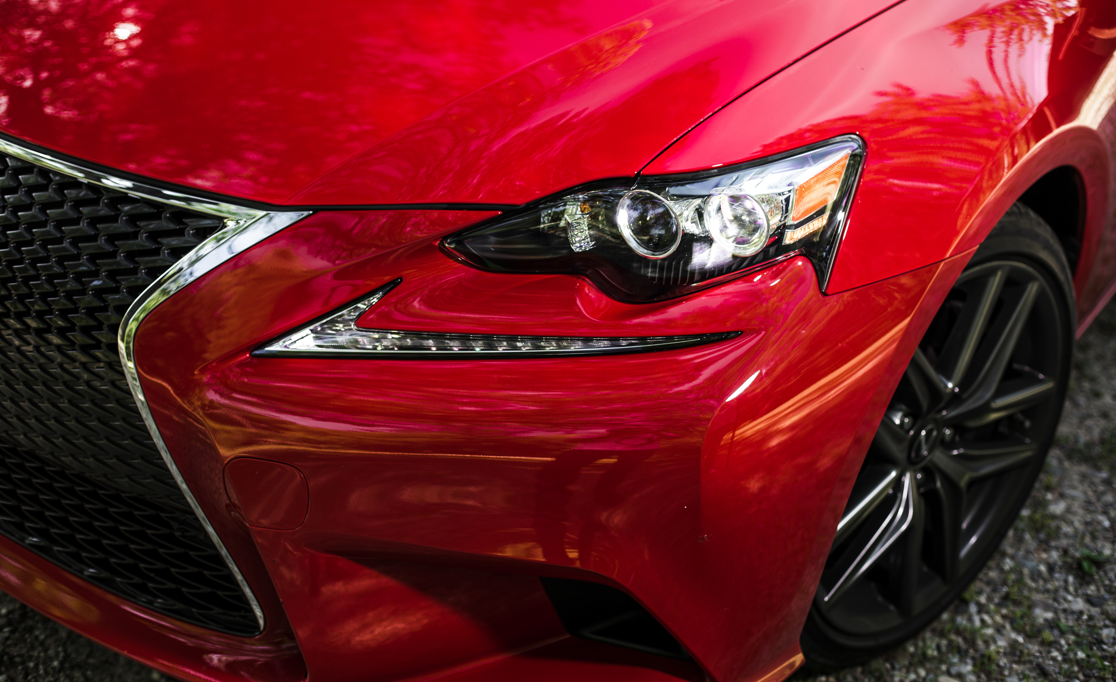 2016 Lexus IS200t F Sport Exterior DRL and Headlamp Right