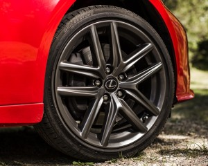 2016 Lexus IS200t F Sport Exterior Wheel