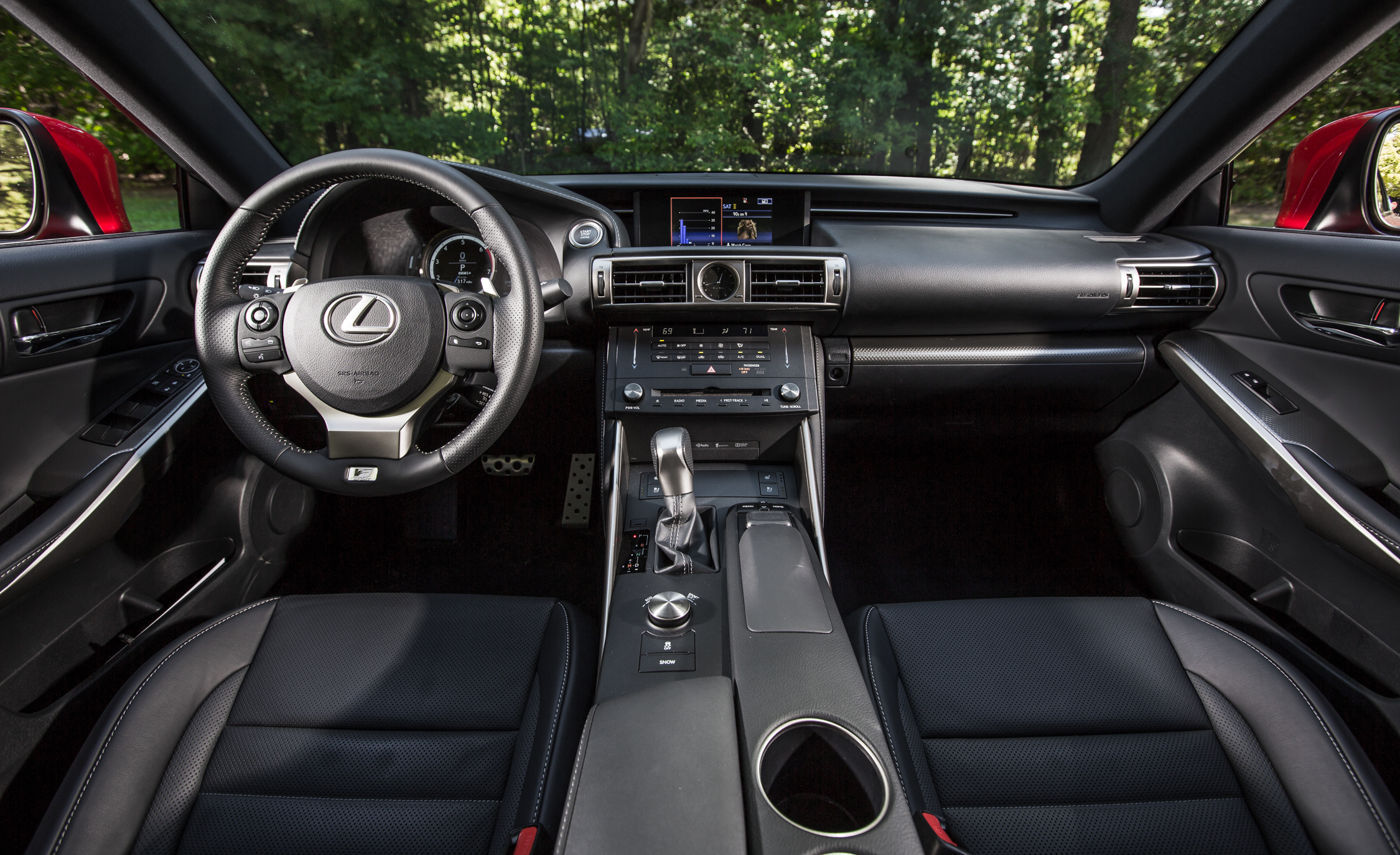 2016 Lexus IS200t F Sport Interior Front