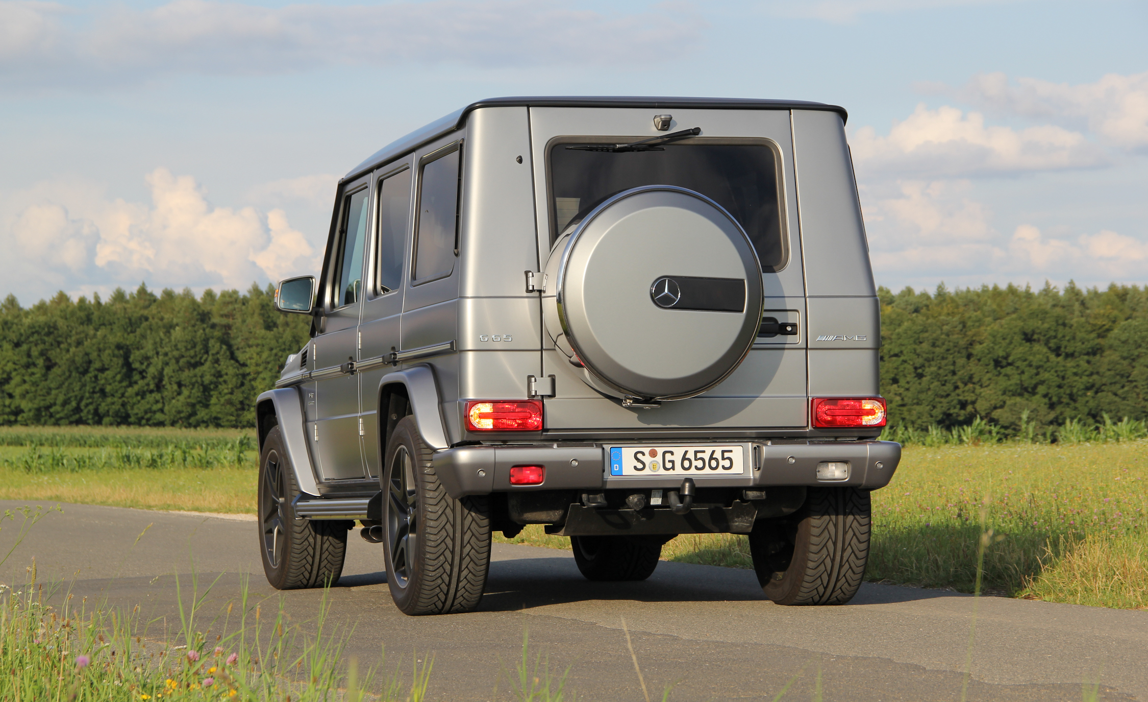 2016 Mercedes-Benz G65 AMG Exterior Rear