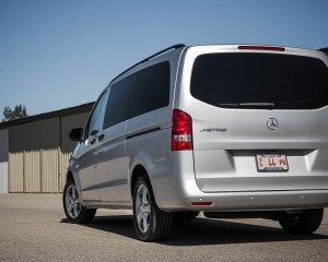 2016 Mercedes-Benz Metris Exterior Rear