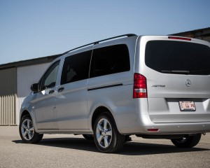 2016 Mercedes-Benz Metris Exterior Rear and Side