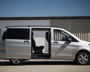 2016 Mercedes-Benz Metris Exterior Side Door Opened