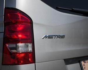 2016 Mercedes-Benz Metris Exterior Taillight and Emblem