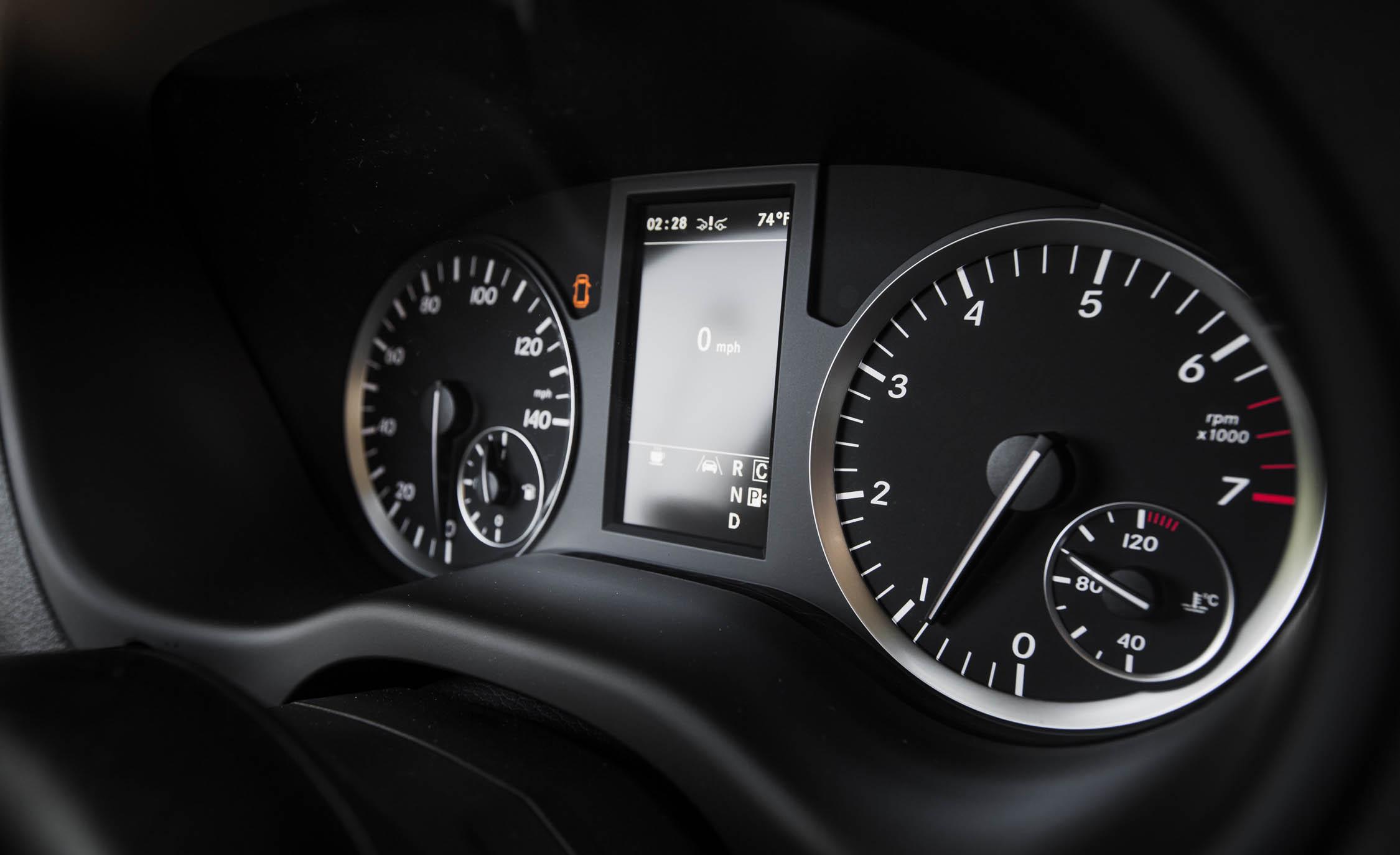 2016 Mercedes-Benz Metris Interior Speedometer