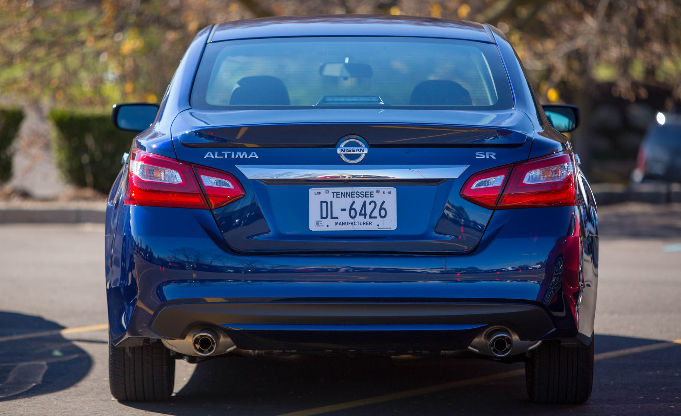 2016 Nissan Altima Exterior Rear End