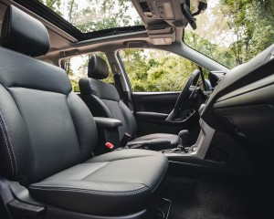 2016 Subaru Forester 2.0XT Touring Interior Seats Front