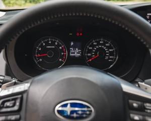 2016 Subaru Forester 2.0XT Touring Interior Speedometer
