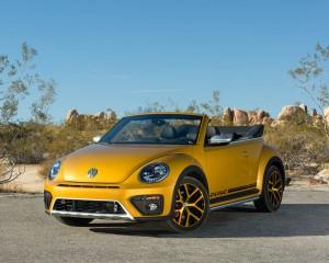 2016 Volkswagen Beetle Dune Convertible Exterior Full Front
