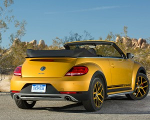 2016 Volkswagen Beetle Dune Convertible Exterior Full Rear