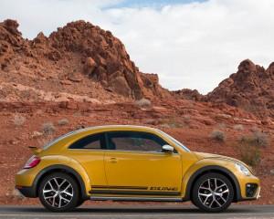 2016 Volkswagen Beetle Dune Coupe Exterior Full Side