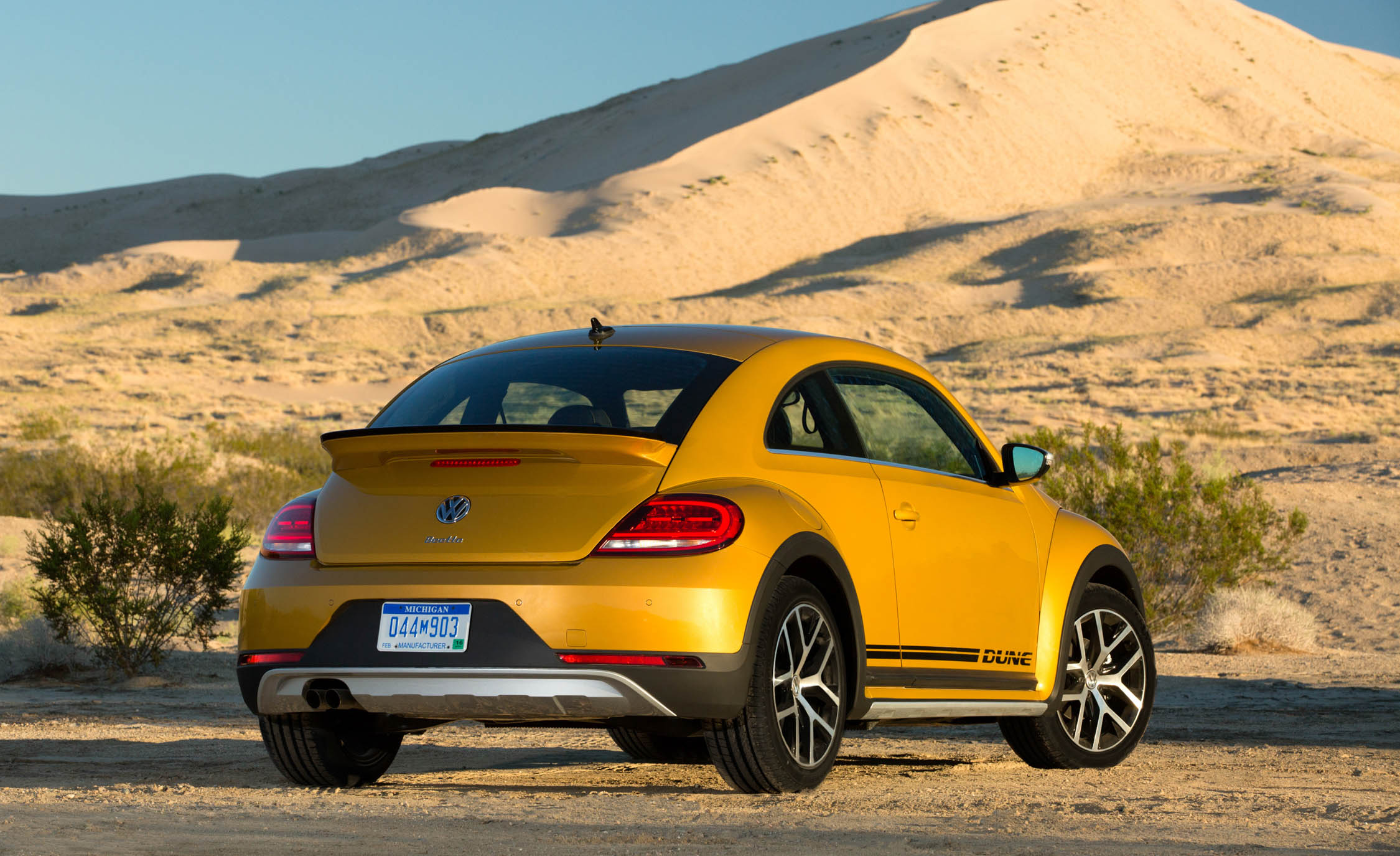 2016 Volkswagen Beetle Dune Exterior Full Rear and Side