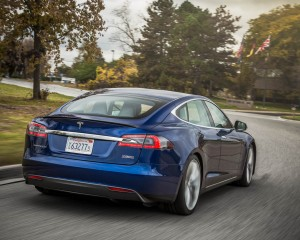 2015 Tesla Model S P90D Exterior Full Rear