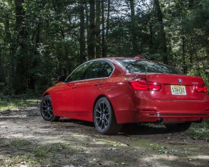 2016 BMW 340i Exterior Full Rear and Side