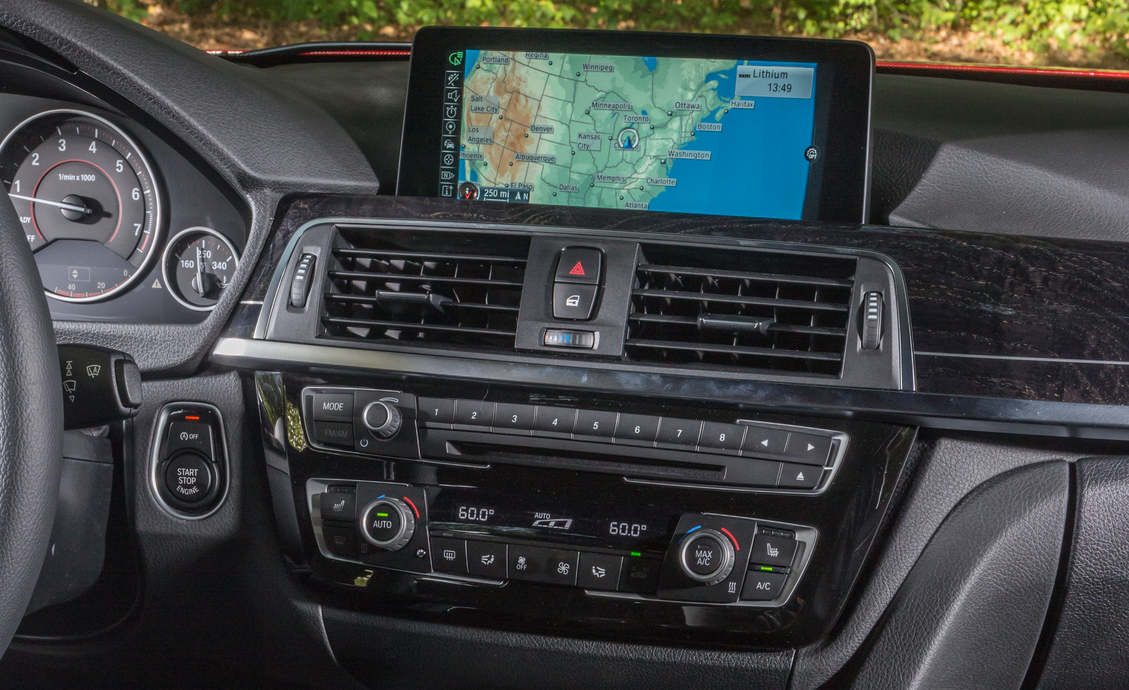 2016 BMW 340i Interior Head Unit