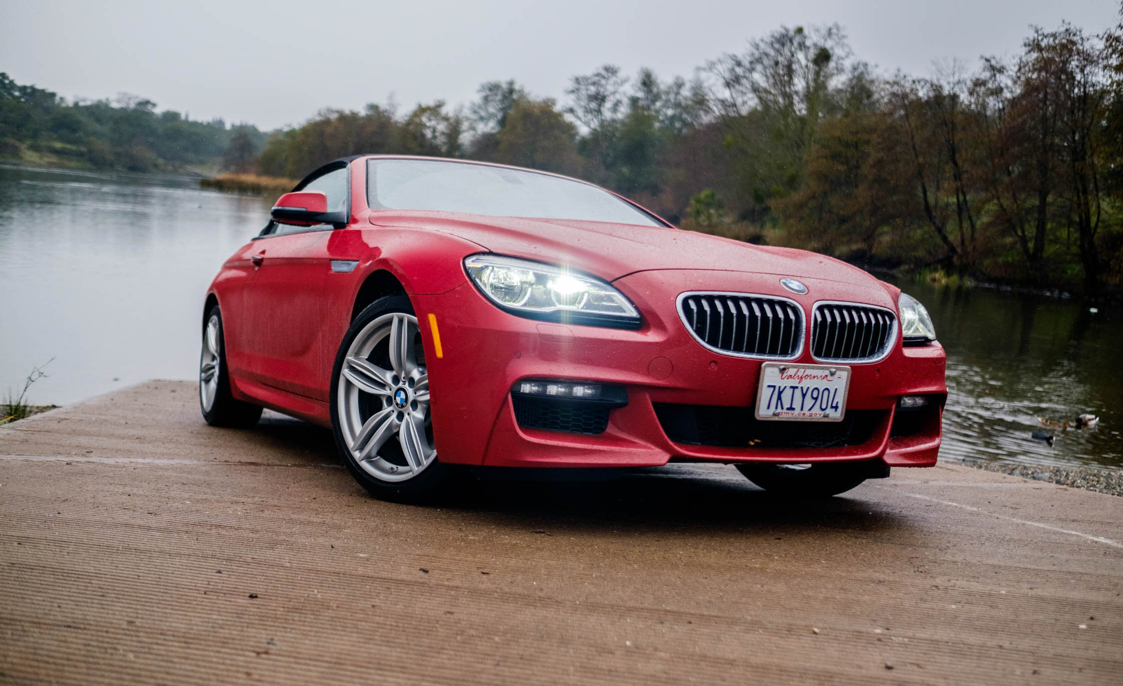 2016 BMW 640i Convertible Exterior Full Front