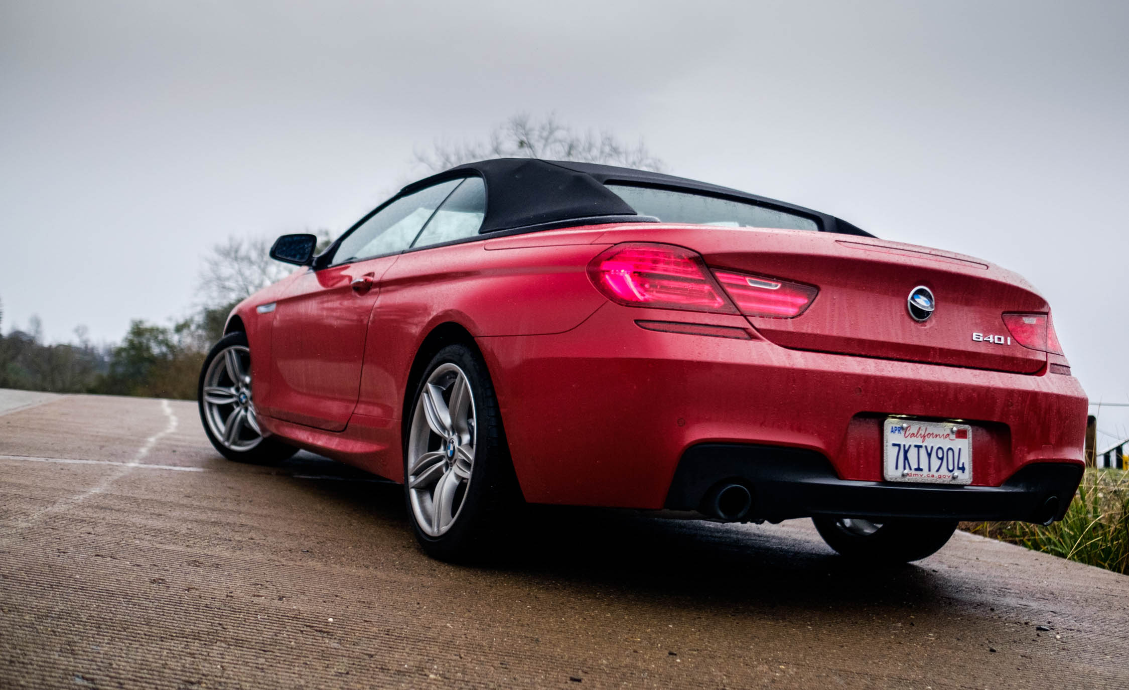 2016 BMW 640i Convertible Exterior Full Rear and Side