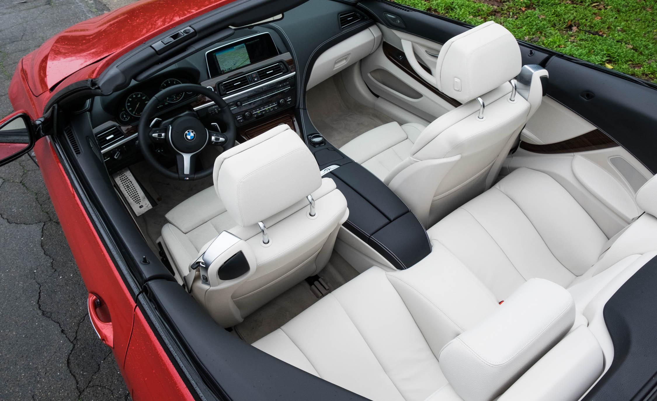 2016 BMW 640i Convertible Interior Preview