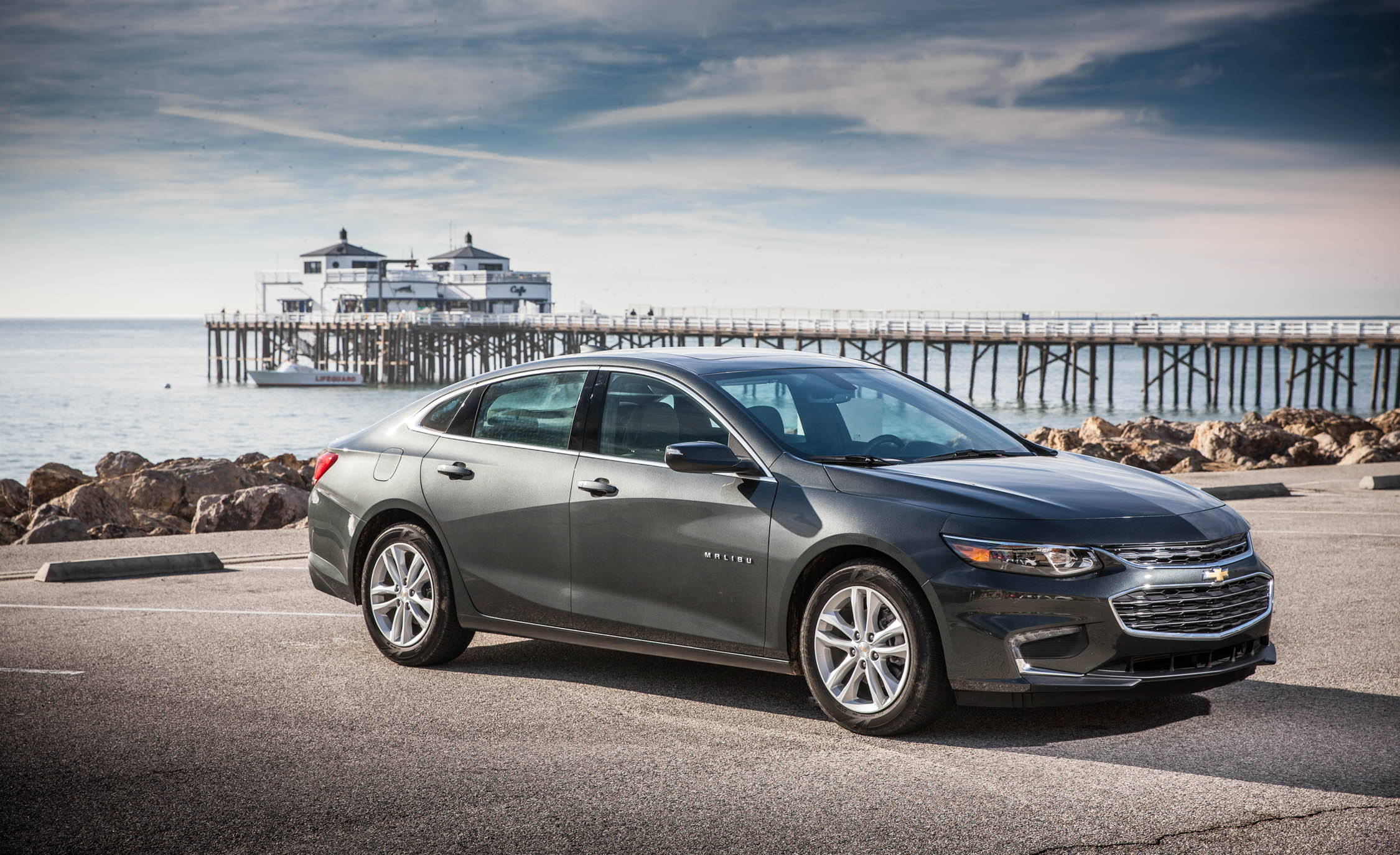2016 Chevrolet Malibu LT Exterior Full Front and Side
