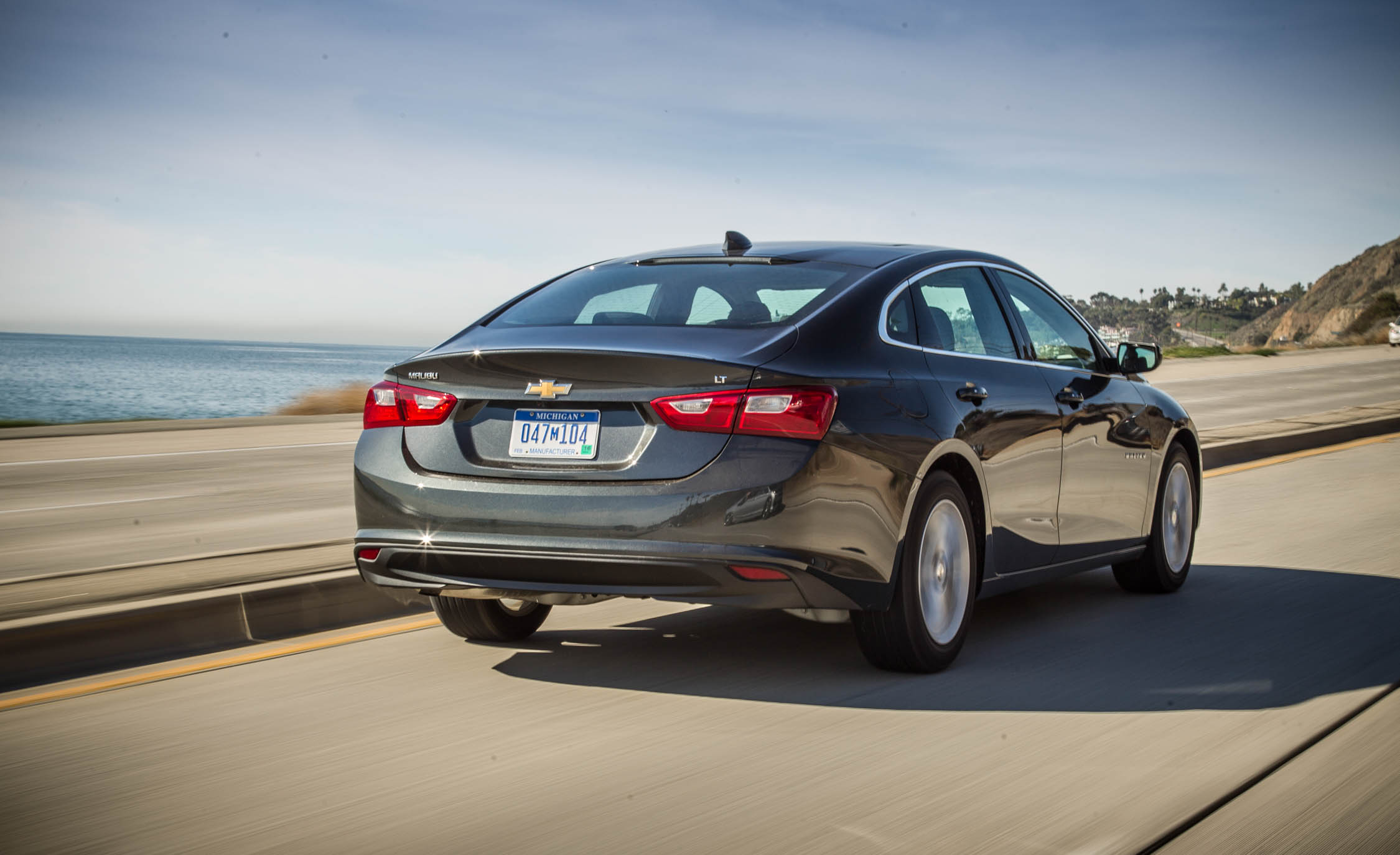 2016 Chevrolet Malibu LT Exterior Full Rear and Side