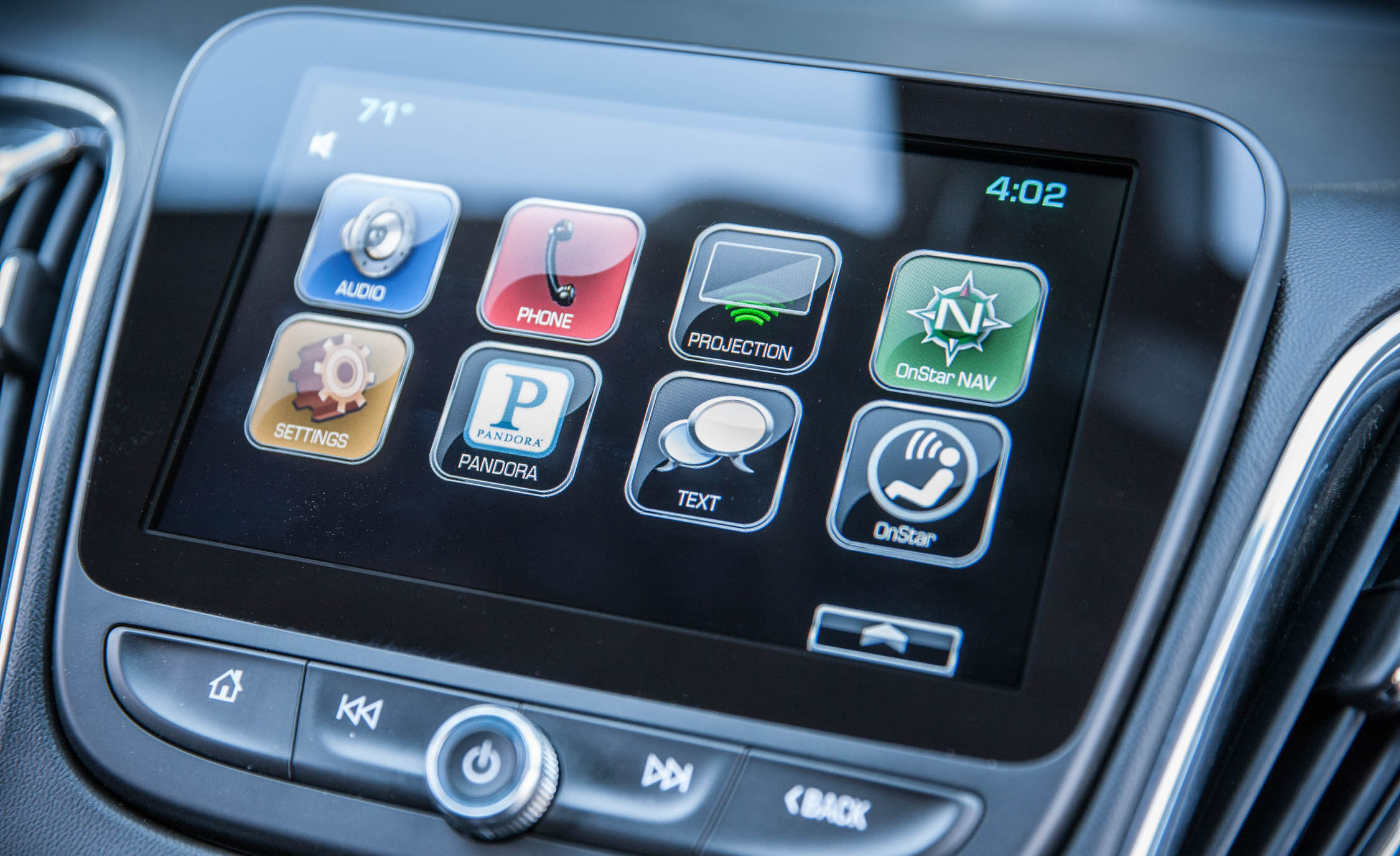 2016 Chevrolet Malibu LT Interior Head Unit