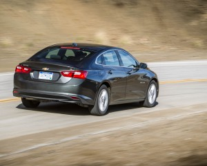 2016 Chevrolet Malibu LT Test Side and Rear View