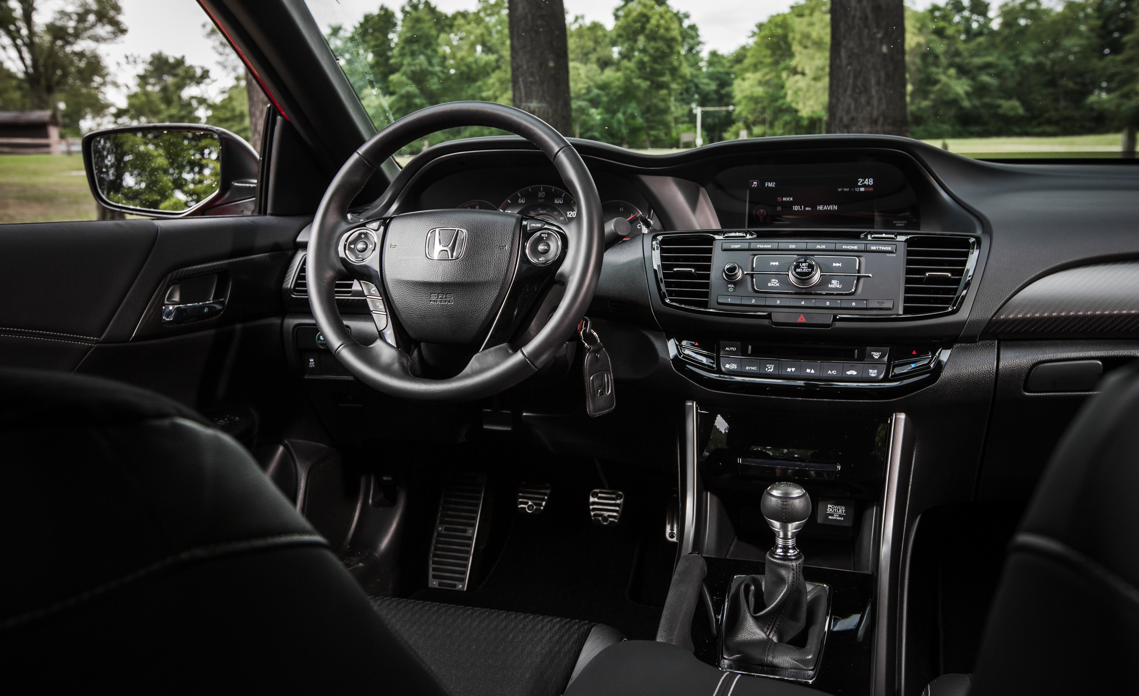 2014 honda accord sport manual review