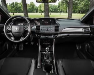 2016 Honda Accord Sport Interior Dashboard