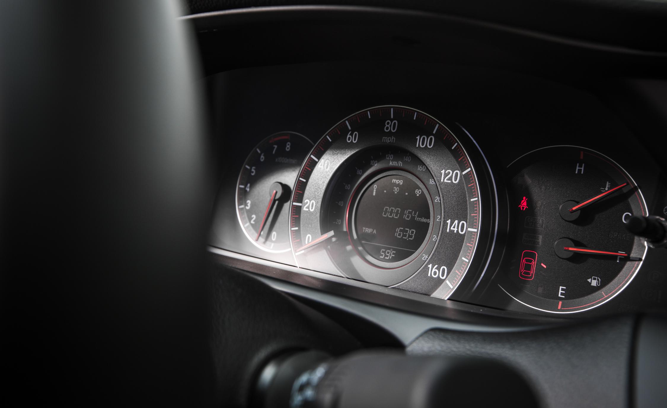 2016 Honda Accord Sport Interior Speedometer