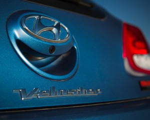 2016 Hyundai Veloster Turbo Rally Edition Exterior Badge Rear