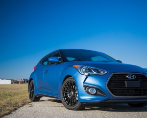 2016 Hyundai Veloster Turbo Rally Edition Exterior Full Front and Side