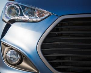 2016 Hyundai Veloster Turbo Rally Edition Exterior Headlight Left