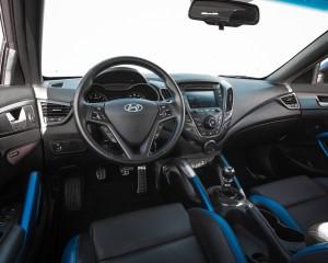 2016 Hyundai Veloster Turbo Rally Edition Interior Cockpit