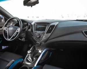 2016 Hyundai Veloster Turbo Rally Edition Interior Dashboard