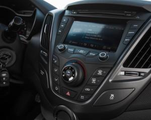 2016 Hyundai Veloster Turbo Rally Edition Interior Headunit