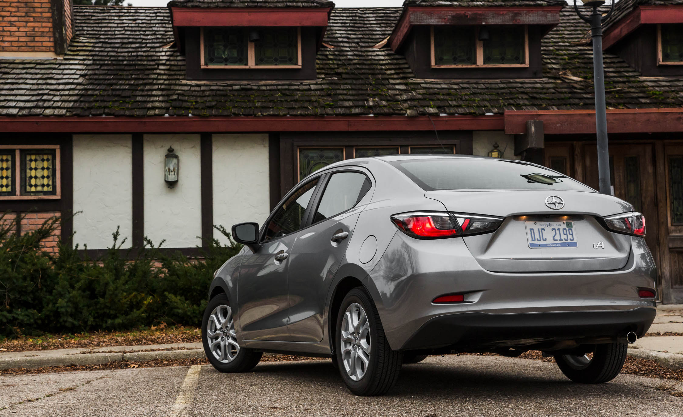 2016 Scion iA Exterior Full Rear